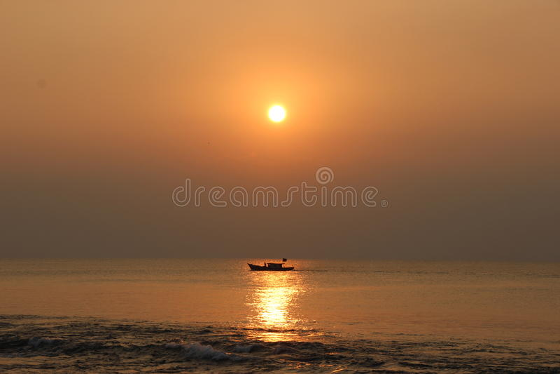 Tanjung Lesung fotografie stock