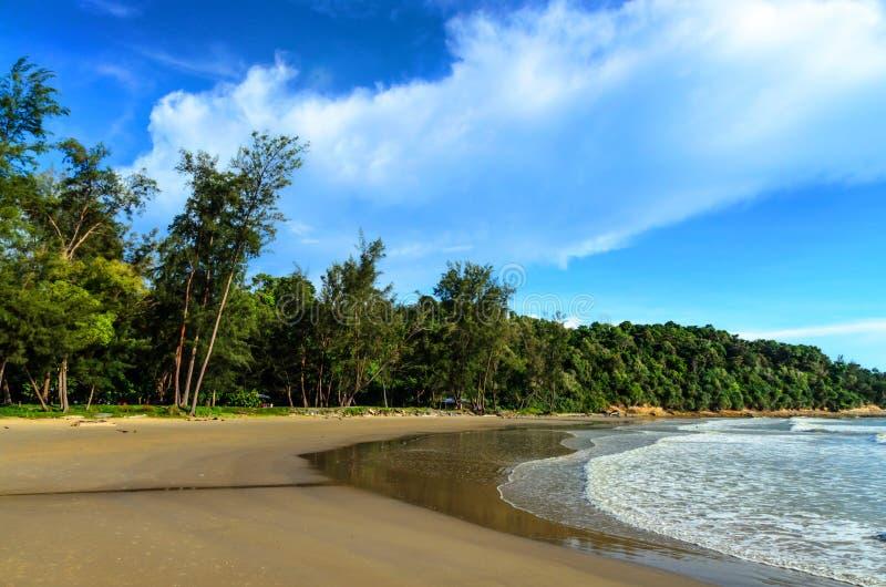 Tanjung Lobang, Miri стоковая фотография