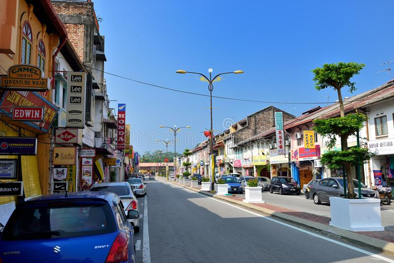 Tanjung Malim town. Tanjung Malim is a town in the state of Perak, Malaysia. It is approximately 70 km (43 mi) north of Kuala Lumpur via the North-South stock image
