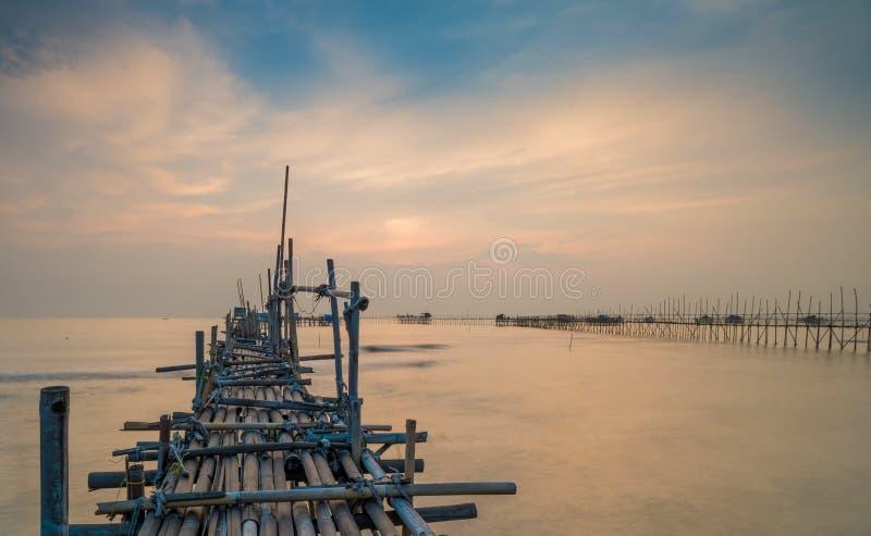 Tanjung pasir beach royalty free stock photos