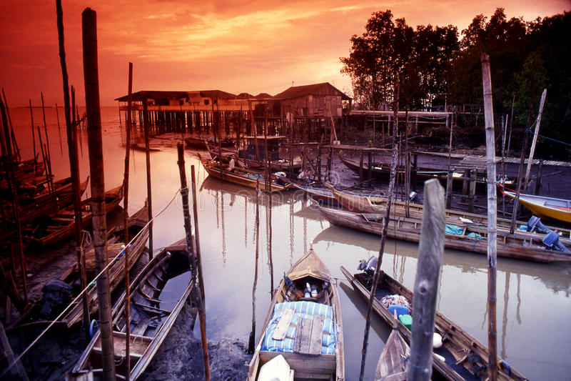 Tanjung Piai imagens de stock royalty free