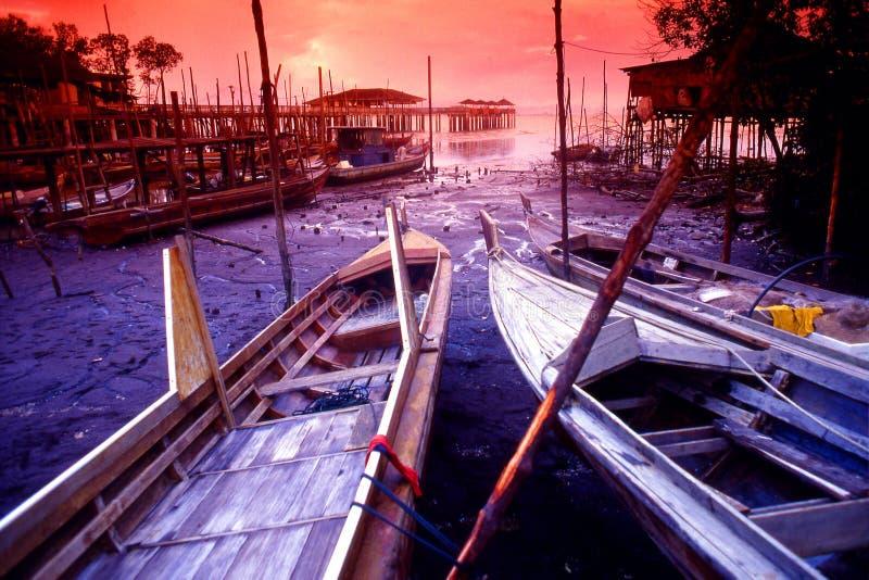 Tanjung Piai royalty-vrije stock afbeelding