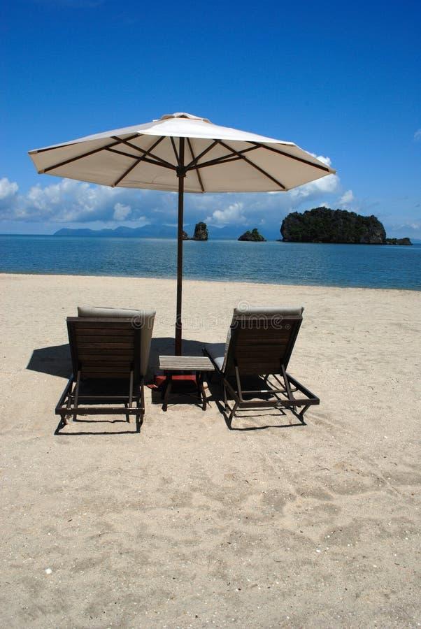 Tanjung Rhu Strand, Langkawi in Malaysia stockfotos
