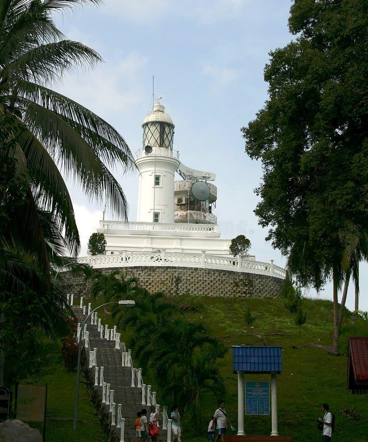 Tanjung Tuan Light House imagem de stock royalty free