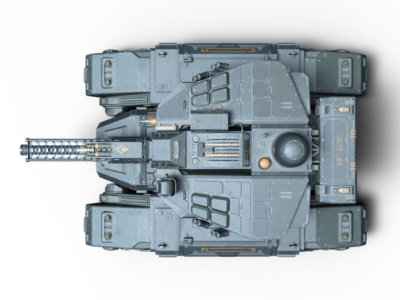 tank illustrazione vettoriale