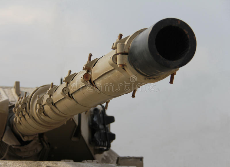 Download Tank Barrel stock photo. Image of camouflage, turret - 26970890