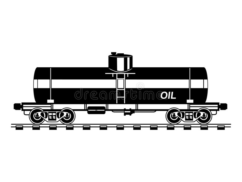 Download Tank car stock vector. Illustration of cargo, industry - 7980972
