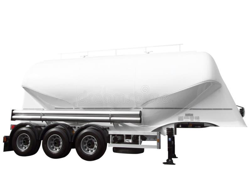 Tank car trailer stock photo