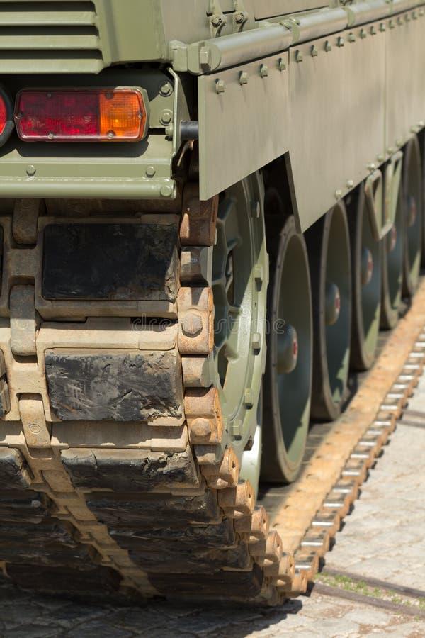 Tank Chains Stock Photo