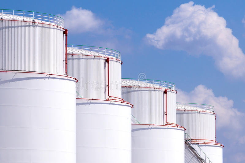 Download Tank Farm stock image. Image of station, chemistry, plant - 32158177