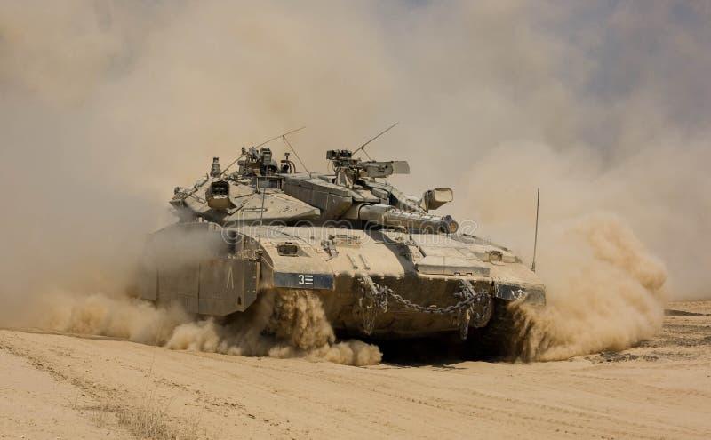 Tank IDF royalty-vrije stock afbeeldingen