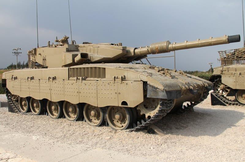 Tank Merkava Mk III. Israeli Merkava Mk III tank stock images