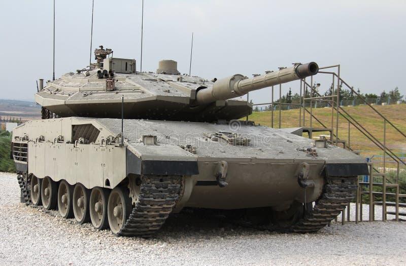 Download Tank Merkava Mk IV stock image. Image of firepower, power - 26970983