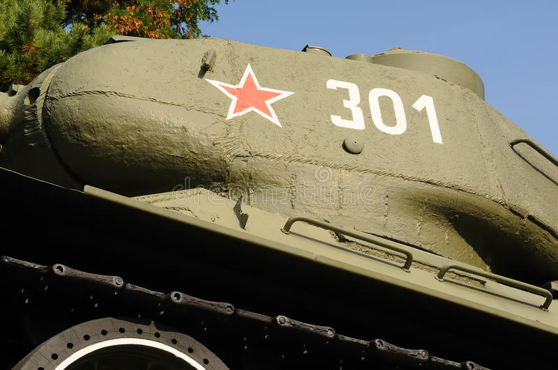 Download Tank no.2 stock image. Image of military, memorial, star - 11126401