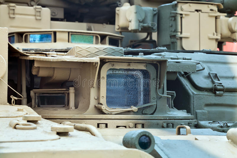 Download Tank periscope stock image. Image of combat, window, nobody - 25523009