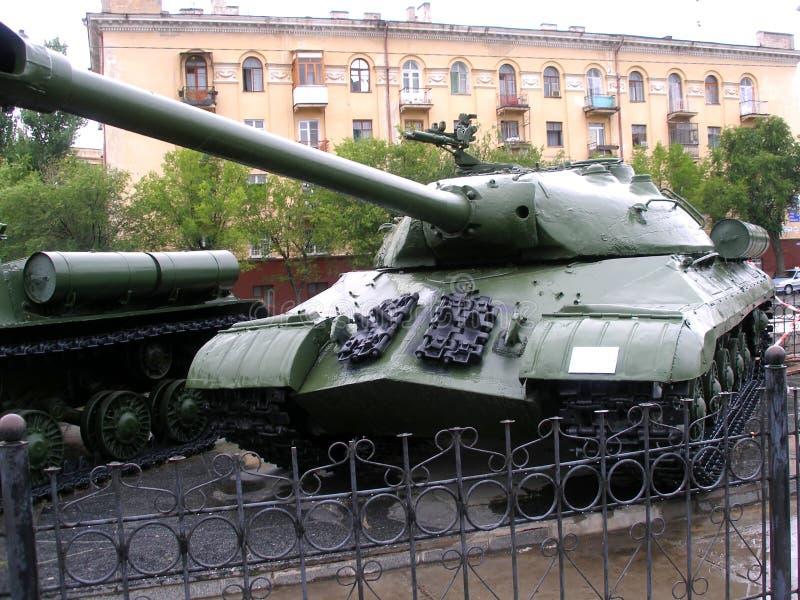 Tank, Russia, Volgograd stock photo