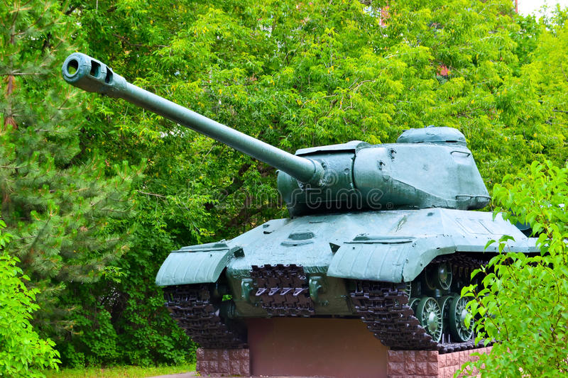 Download Tank stock image. Image of wood, tracked, tank, armored - 32052527