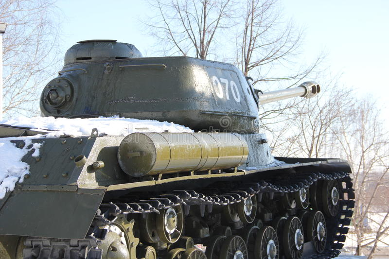 Tank. A Soviet tank during the second world war royalty free stock image