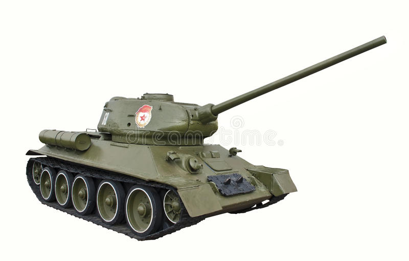 Download Tank T-34 stock image. Image of armored, power, object - 24587651