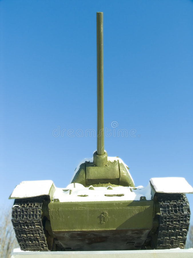 Free Tank T34 Monument Royalty Free Stock Photos - 1947968