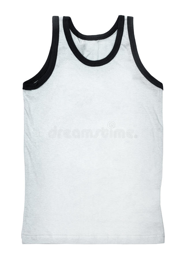 Tank top isolated on white