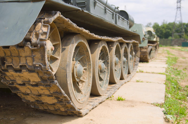 Download Tank Tracks Stock Photo - Image: 21399920