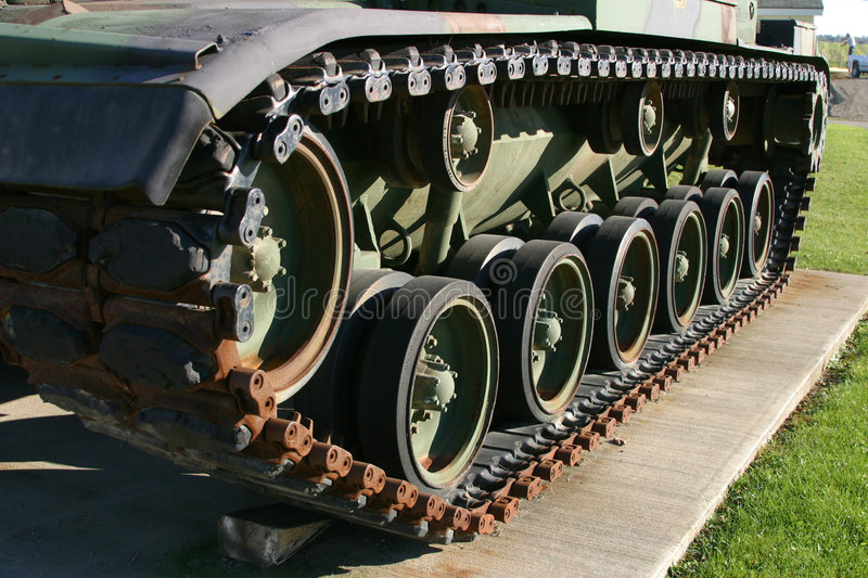 Tank Tread stock photography