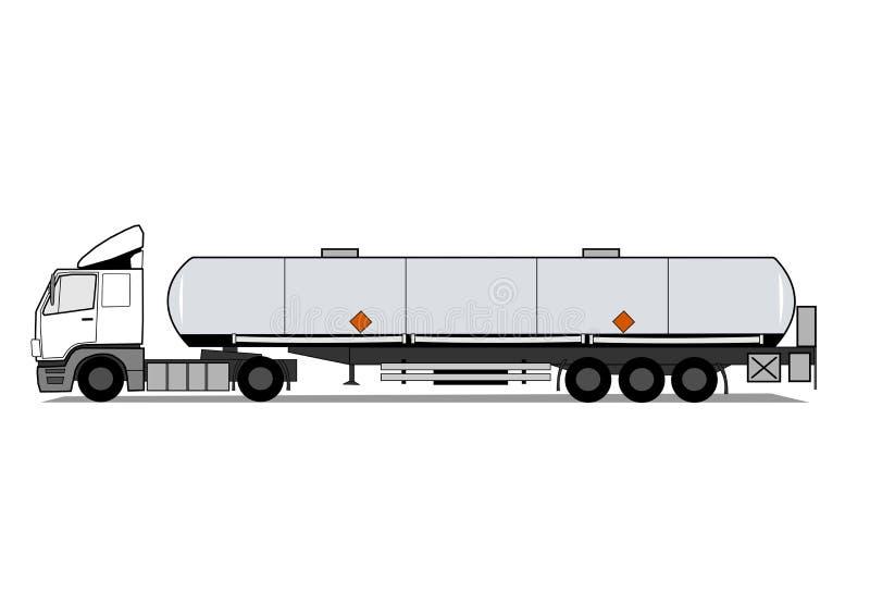 Tank truck vector illustration