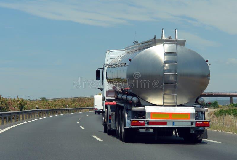Tank truck royalty free stock image