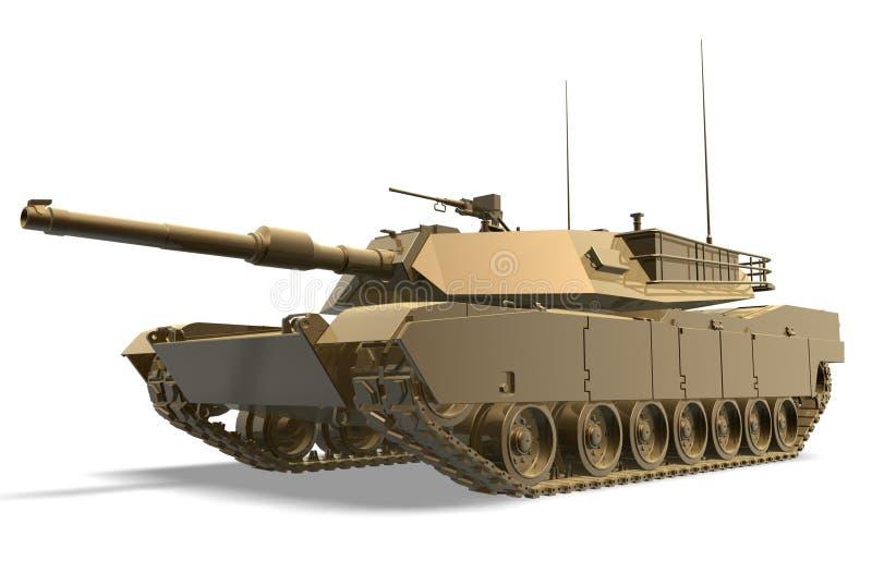 Tank of war vector illustration