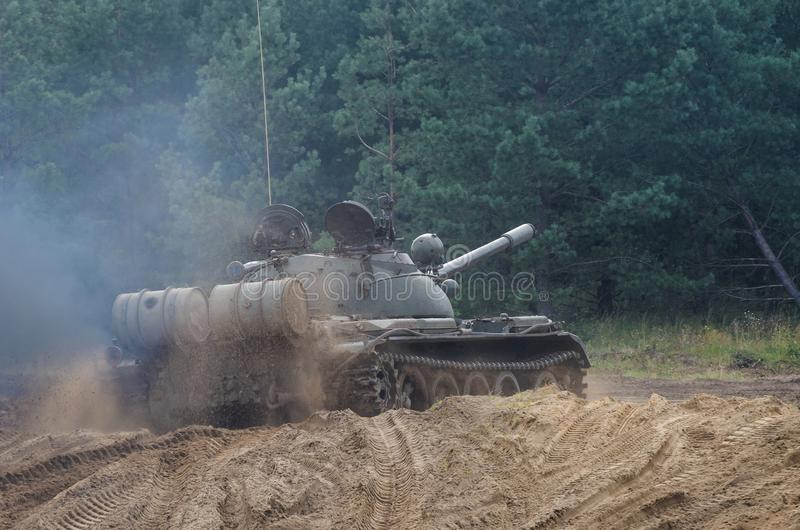 TANK WARSAW PACT royalty free stock images