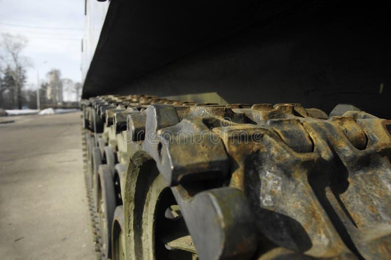 Tank Wheels Stock Image
