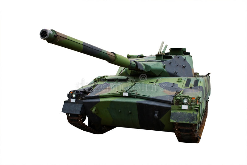 tank wojskowy obraz stock