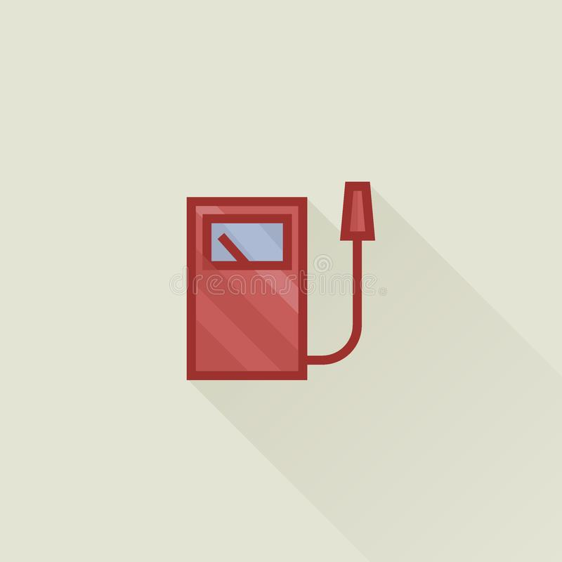 Tanka den plana vektorsymbolen stock illustrationer