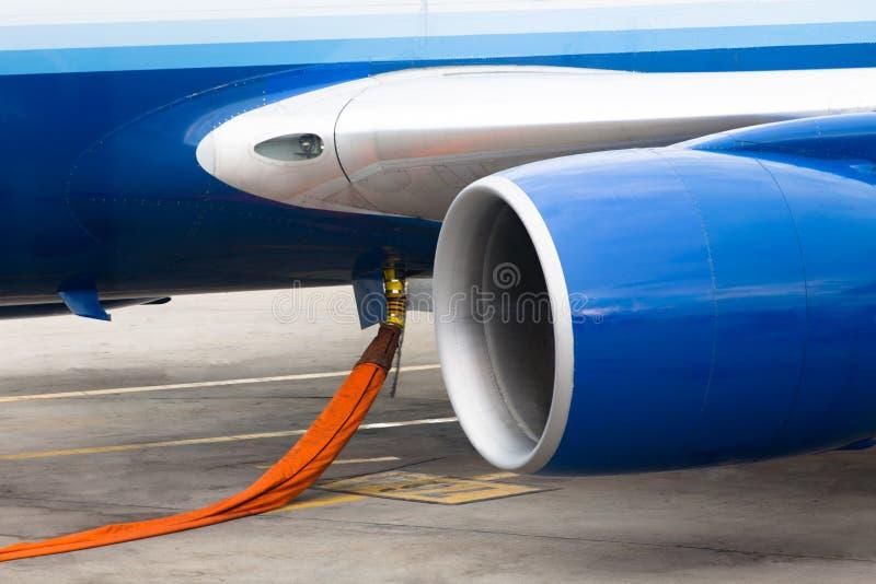 Tanka jetmotorn royaltyfri foto