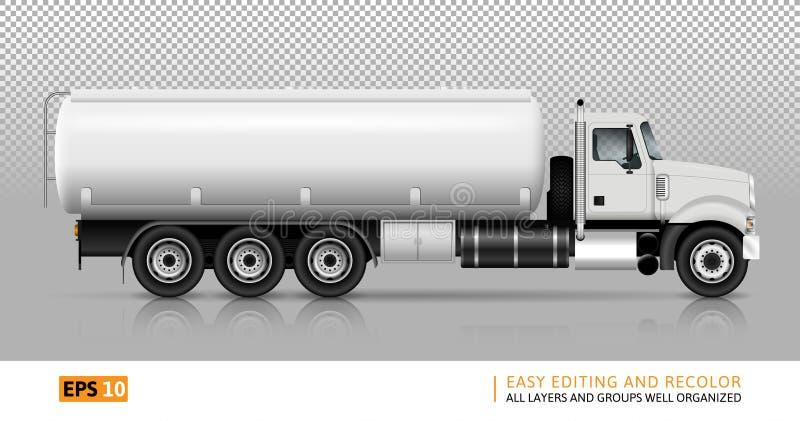 Tankbilvektorillustration vektor illustrationer