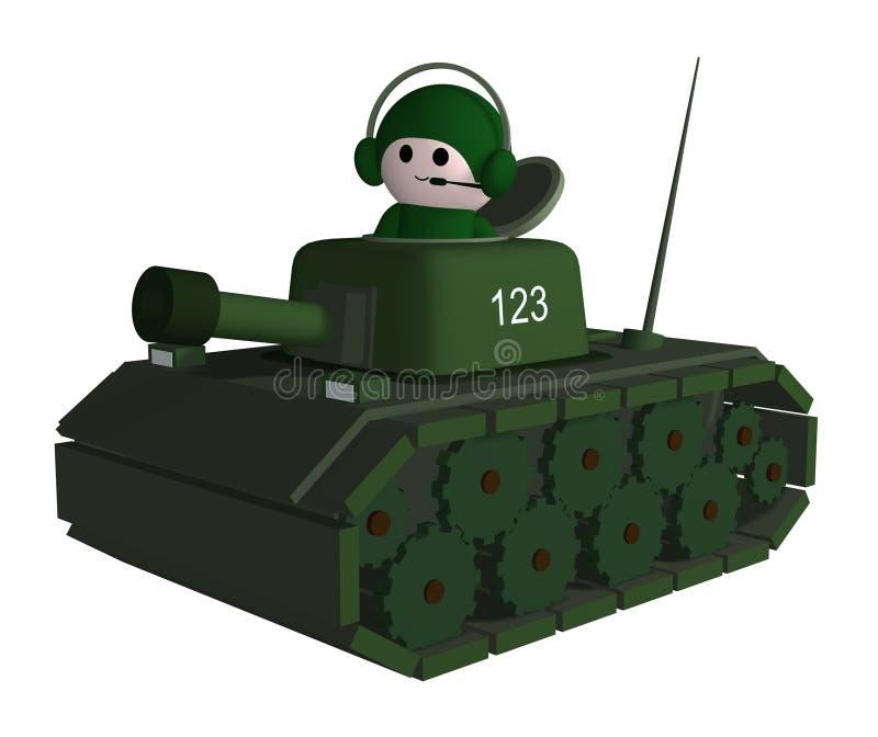 tankboy vektor illustrationer