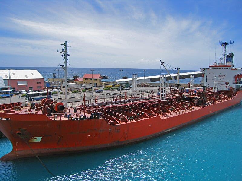 Tanker royalty-vrije stock afbeeldingen