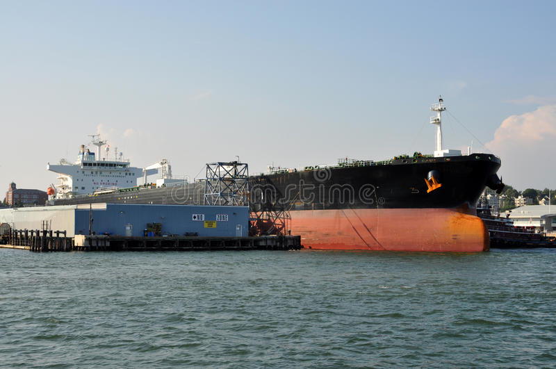 Download Tanker at the dock stock photo. Image of dock, commercial - 20959464
