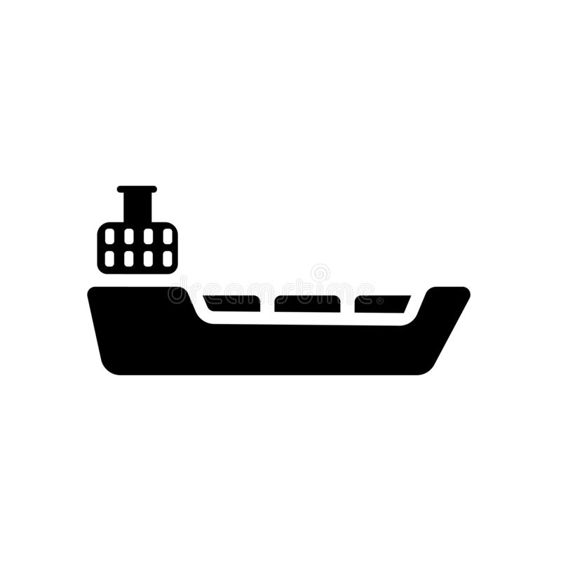 Tanker icon. Trendy Tanker logo concept on white background from. Transportation collection. Suitable for use on web apps, mobile apps and print media stock illustration