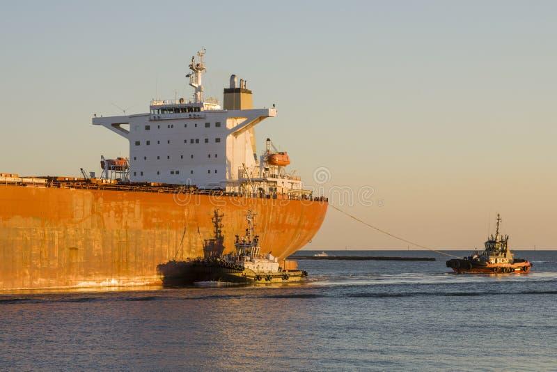Tanker-Lieferung lizenzfreie stockfotografie