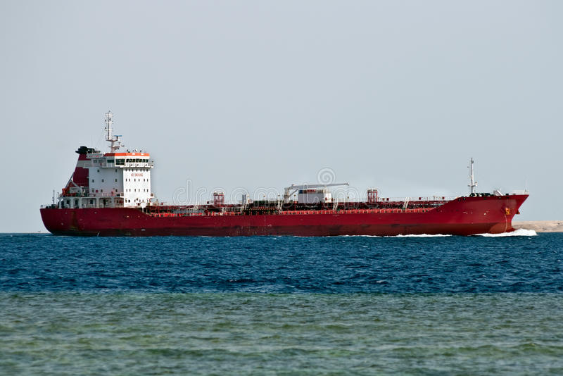 Download Tanker ship stock image. Image of channel, traffic, tonnage - 17385501