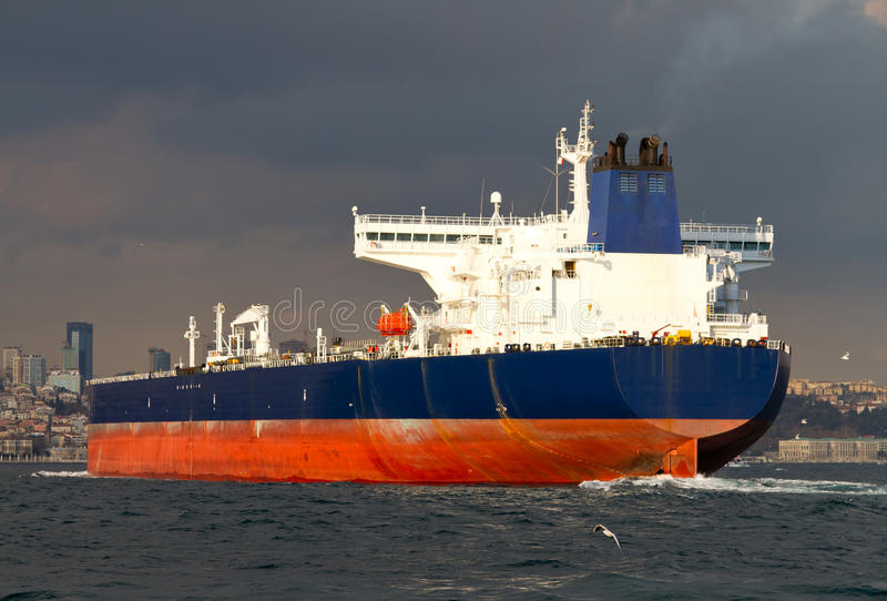 Download Tanker Ship stock image. Image of natural, heavy, bosphorus - 23790277