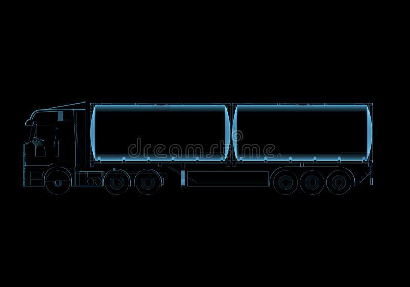 Download Tanker truck stock illustration. Image of glossy, dangerous - 29273074