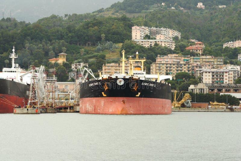 Tankerschip royalty-vrije stock fotografie