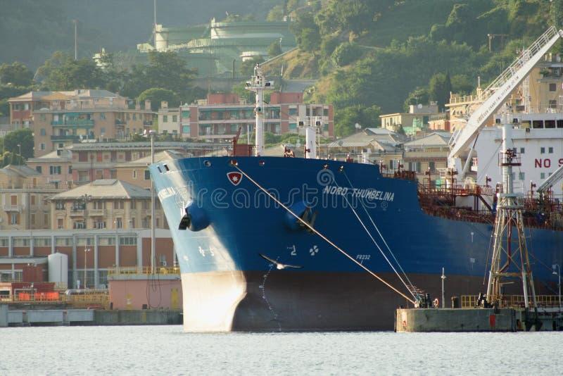 Tankerschip stock afbeeldingen