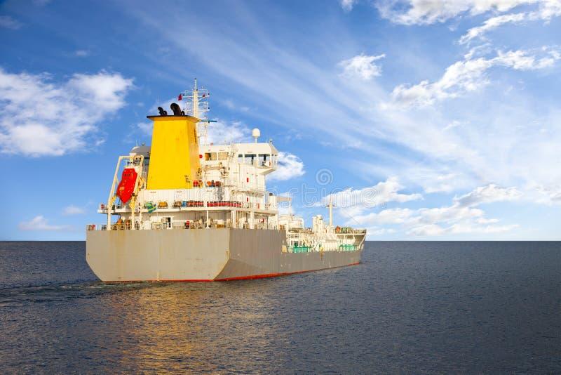 Tankerschip royalty-vrije stock foto's