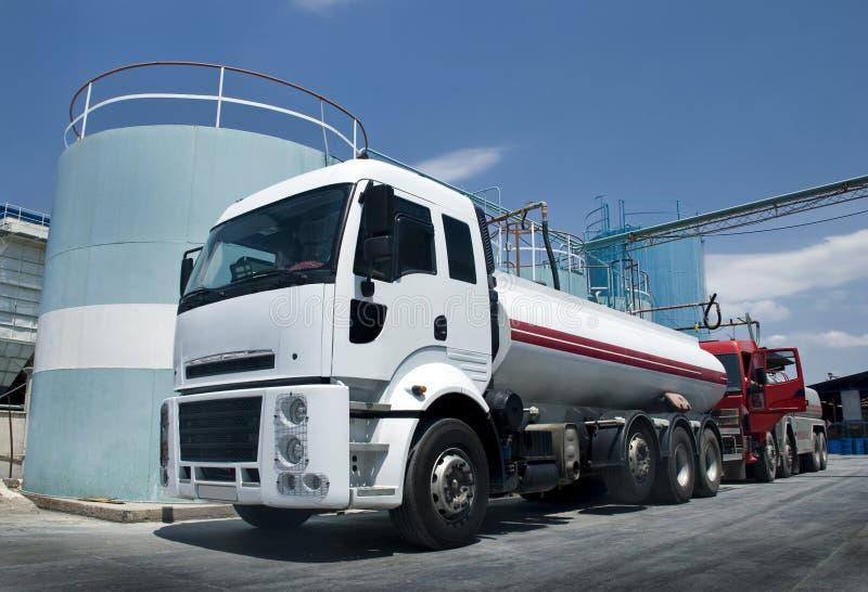 Tankfahrzeug lizenzfreies stockbild