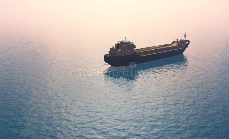 Tankfartyg vektor illustrationer