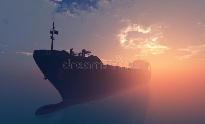 tankfartyg royaltyfri illustrationer